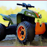 4x4 ATV Motorbikes for Kids