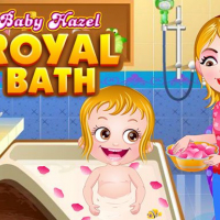 Baby Hazel Royal Bath