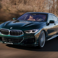 BMW B8 Gran Coupe Slide
