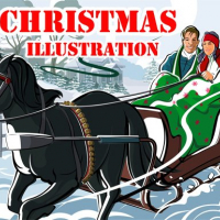 Christmas Illustration Puzzle