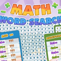 Math Word Search