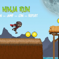 Ninja Run - Fullscreen Running Game