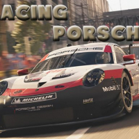 Racing Porsche Jigsaw