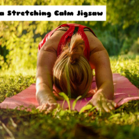 Yoga Stretching Calm Jigsaw
