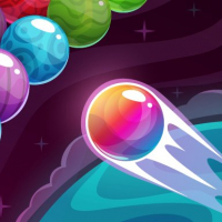 Bubble Shooter Colored Planets
