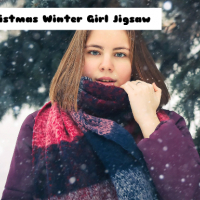 Christmas Winter Girl Jigsaw