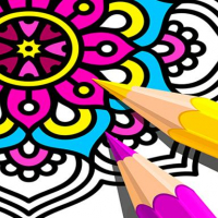 Mandala Coloring Book 2021