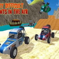 Offroad Kart Beach Stunt : Buggy Car Drive Game