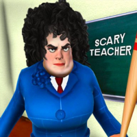 Scary Evil Teacher Games: Neighbor House Escape 3D