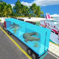 Sea Animal Transport Truck
