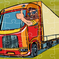 Semi Trucks Jigsaw