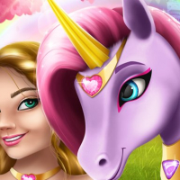 Unicorn Fashion dress up girls