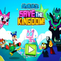 Unicorn Kitty Save The Kingdom